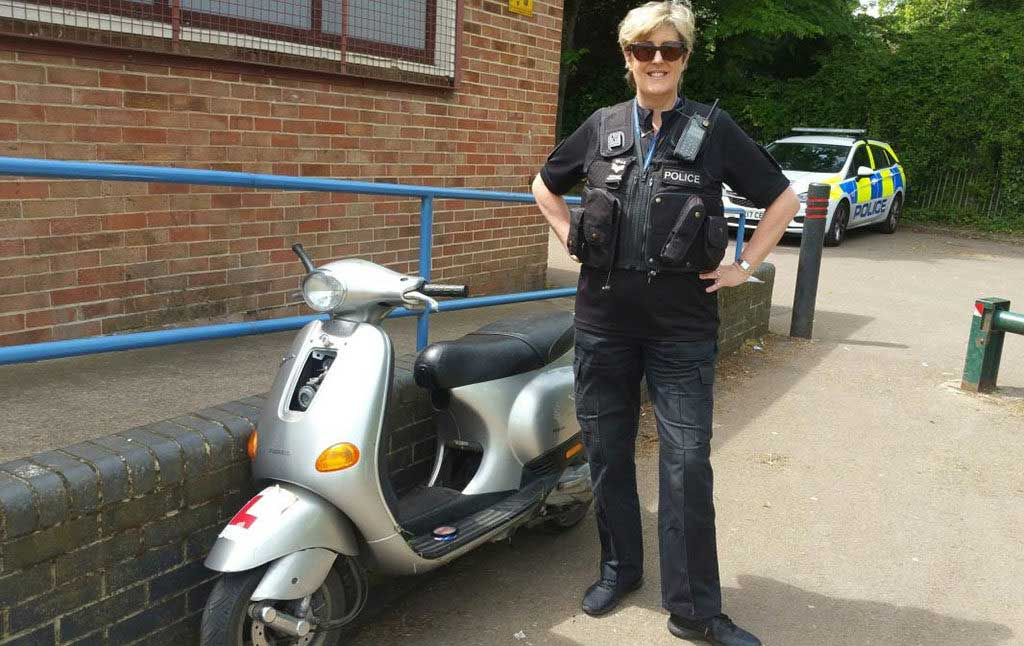 stolen moped uk police 1024x646 - UK Motorcycle Theft Hotspots Revealed