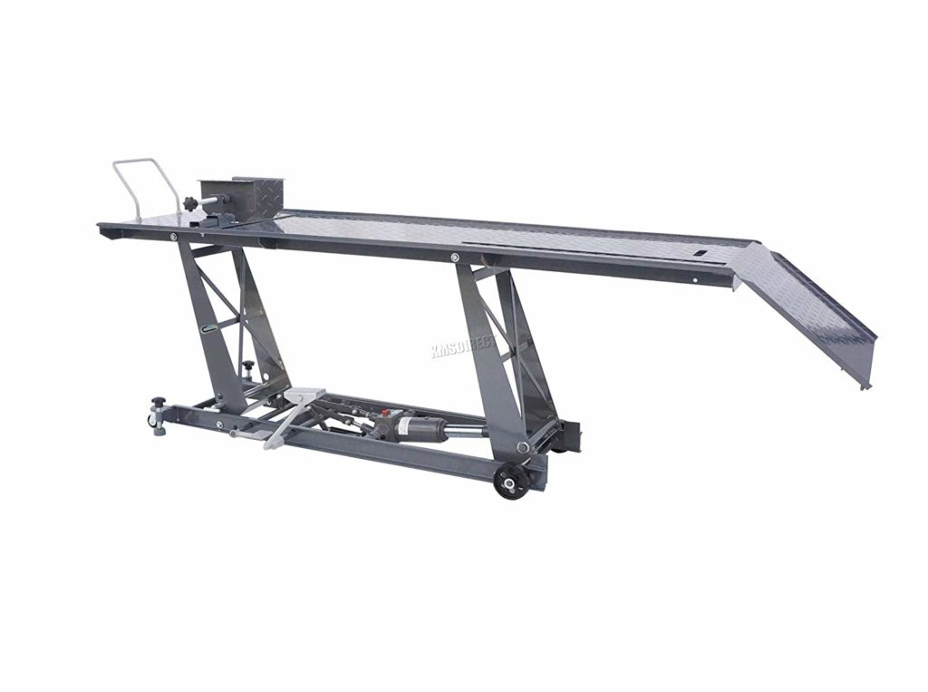 switzer hydraulic motorcycle lift 1024x763 - Every Motorcycle Lift You Can Buy In The UK