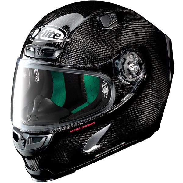x lite helmet full face x 803 ultra carbon fibre puro gloss black - The Lightest Motorcycle Helmets