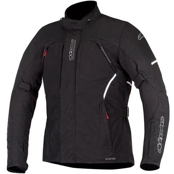 alpinestars jacket textile ares gore tex black motorcycle - The Best Gore-Tex Motorcycle Jackets