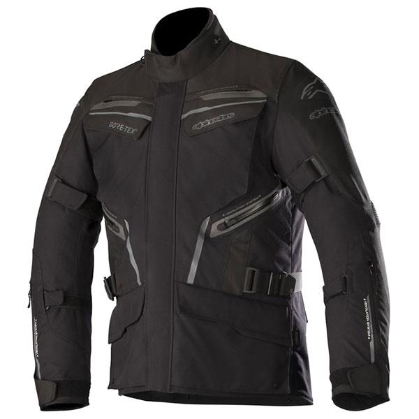 alpinestars jacket textile patron black - The Best Gore-Tex Motorcycle Jackets