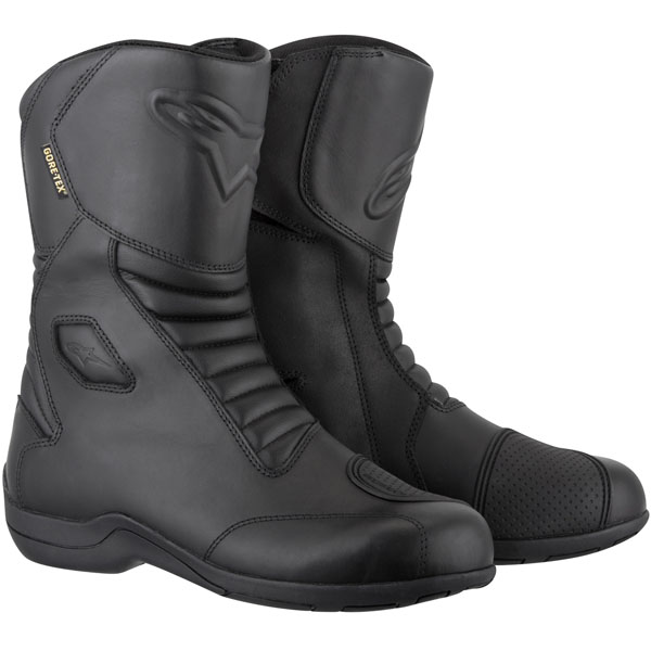 aplinestars boots web gore tex black - The Best Gore-Tex Motorcycle Boots