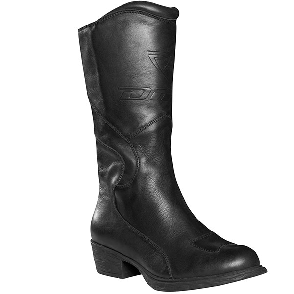 difi boots fair lady black - Ladies Motorcycle Boots Guide
