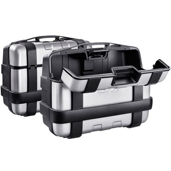 givi luggage hard cases trekker 33 trk33pack2 panniers - Motorcycle Panniers Buying Guide
