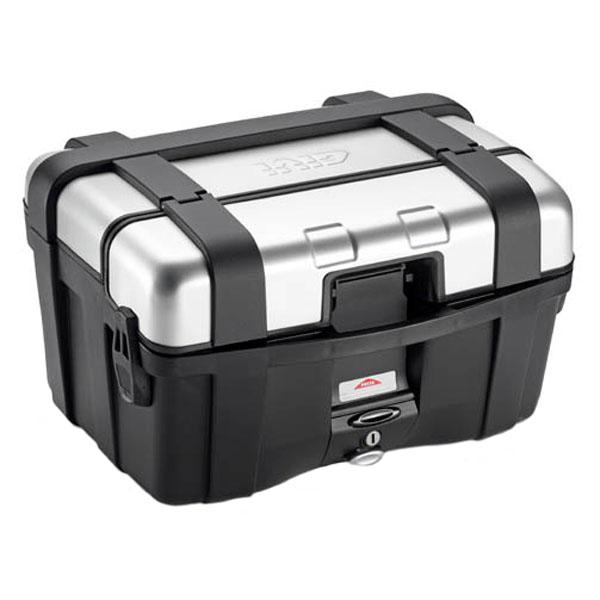 givi luggage hard cases trekker trk46n motorcycle top box aluminium - The Best Motorcycle Top Boxes