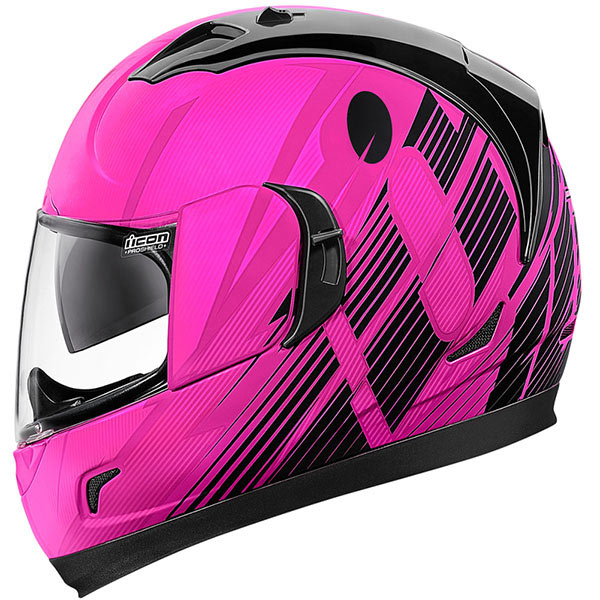 icon helmet alliance gt primary pink - Pink Motorcycle Helmets Showcase