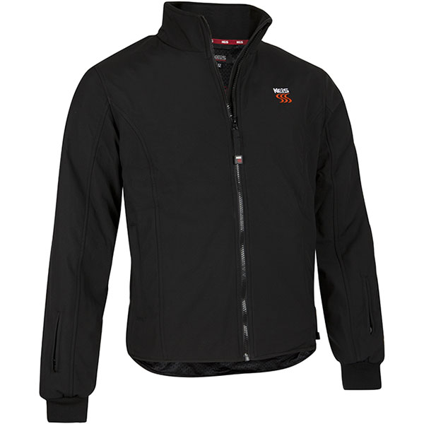 keis heated jacket x25 black motorcycle - Heated Motorcycle Vests and Jackets Guide