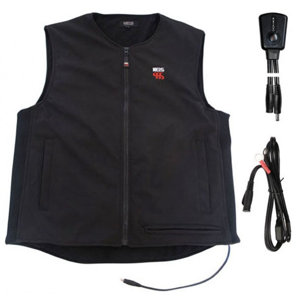 keis x10 bodywarmer inc heavy duty controller motorcycle - Heated Motorcycle Vests and Jackets Guide
