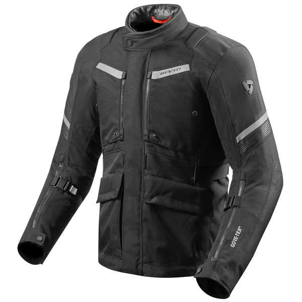 rev it textile jacket neptune 2 gtx black - The Best Gore-Tex Motorcycle Jackets