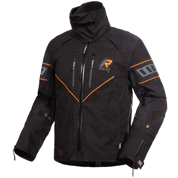 rukka textile jacket nivala gore tex black orange - The Best Gore-Tex Motorcycle Jackets