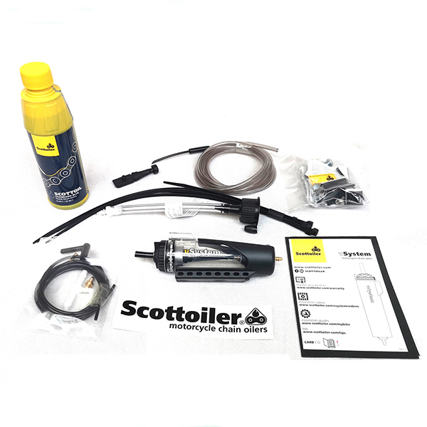 scottoiler vSystem 2019 box contents - The Best Motorcycle Chain Oilers