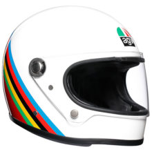 agv helmet legends x3000 gloria retro 220x220 - Retro Motorcycle Helmet Showcase