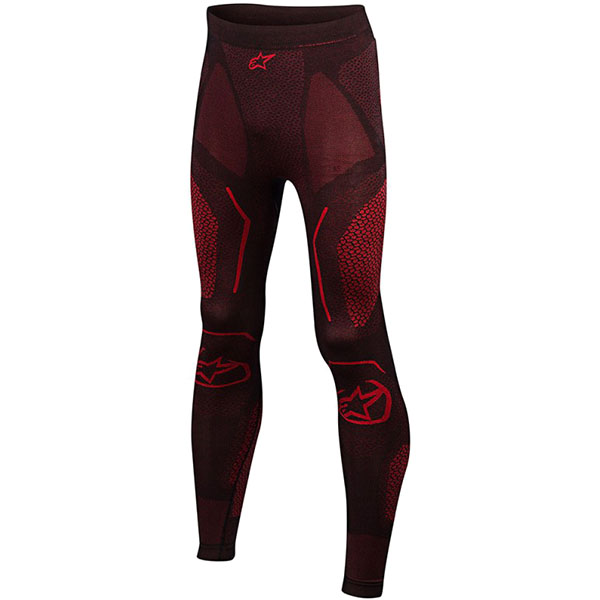 alpinestars base layer ride tech summer pants black red motorcycle - The Best Motorcycle Base Layers
