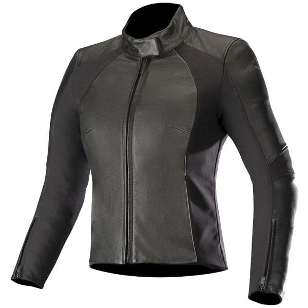 alpinestars textile jacket vika v2 black female - Women's Motorcycle Leathers
