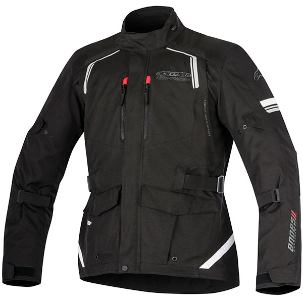 alpinestars textile jackets andes drystar v2 black waterproof jacket - Waterproof Textile Motorcycle Jackets Showcase