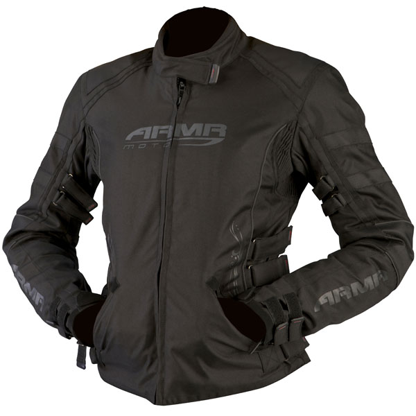 armr moto jacket kami black waterproof textile jacket womens - Waterproof Textile Motorcycle Jackets Showcase