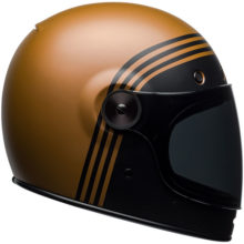 bell helmets bullitt matt black copper classic 220x220 - Retro Motorcycle Helmet Showcase