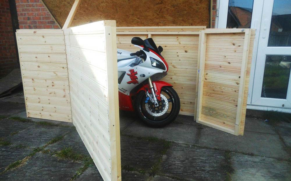 best motorcycle shed uk - The Best Motorcycle Sheds