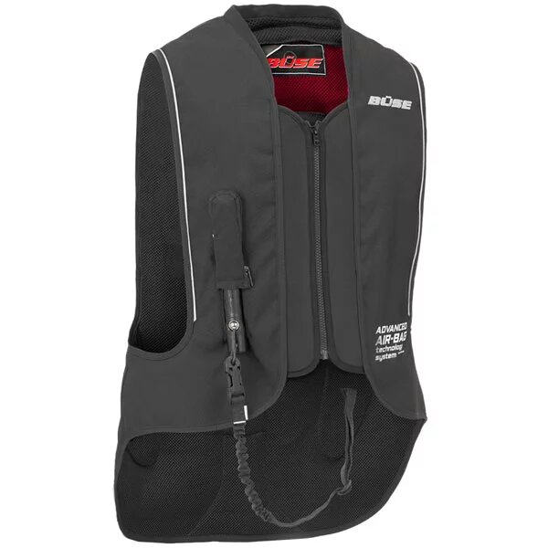 buse armour airbag vest black - Motorcycle Airbag Options