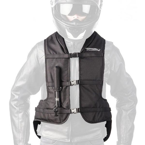 helite turtle vest black - Motorcycle Airbag Options