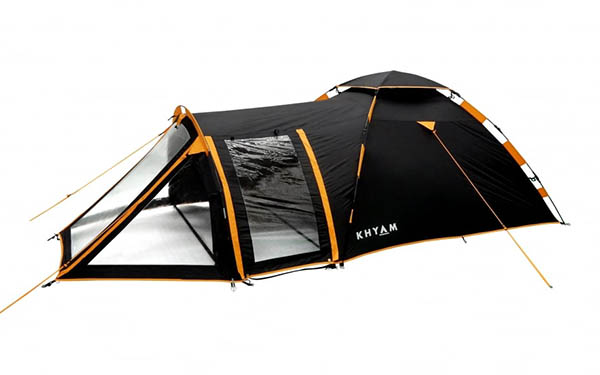 khyam biker p5 small tent - The Best Tents for Bikers