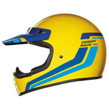 nexx helmet x.g200 desert race yellow adventure 220x220 - Retro Motorcycle Helmet Showcase