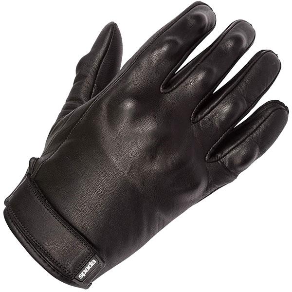 spada ladies leather gloves wyatt black summer - Women's Motorcycle Gloves