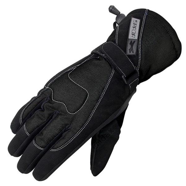 spada ladies street black womens motorcycle - Women's Motorcycle Gloves