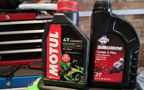 Motorcycle Engine Oil Guide