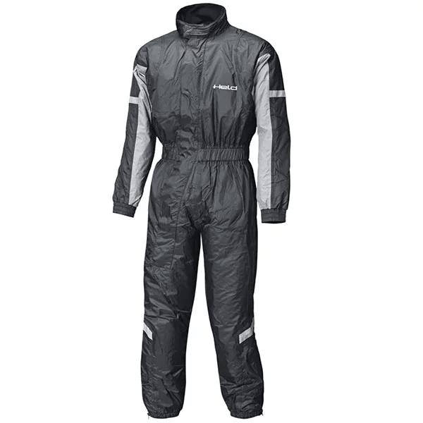 held splash rain suit black silver motorcycle rain suit - The Best Motorcycle Rainsuits