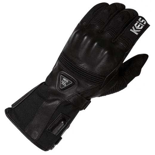 keis gloves g601 black detaill heated motorcycle gloves 550x550 - The Best Heated Motorcycle Gloves