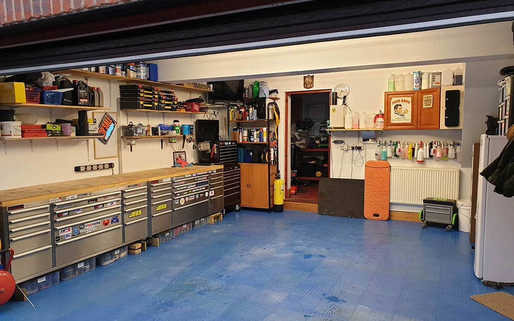 double motorcycle garage - Home Motorcycle Garage Guide