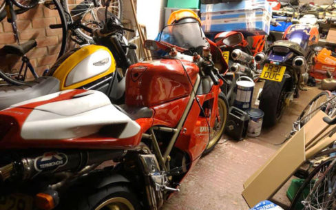 Home Motorcycle Garage Guide
