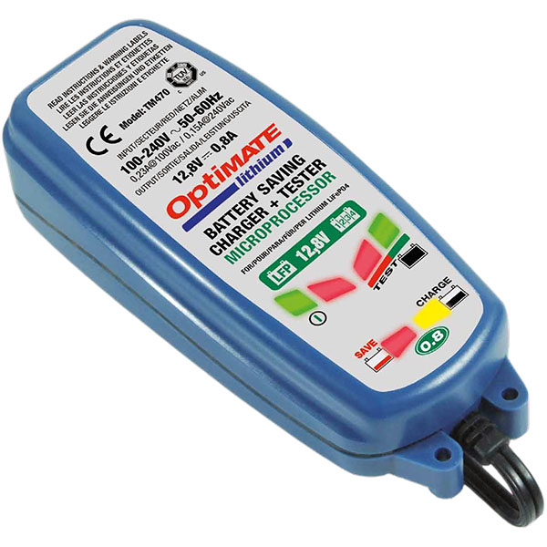 lithium motorcycle battery charger tecmate optimate 0.8a - The Best Lithium Motorcycle Battery Charger